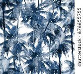 Tropical Watercolor Pattern....