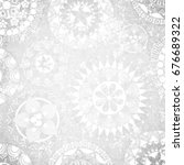 grungy white vintage design...   Shutterstock .eps vector #676689322