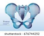 abstract illustration of... | Shutterstock .eps vector #676744252