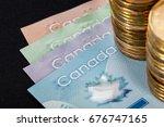 canadian dollar  concept of... | Shutterstock . vector #676747165