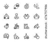 obesity behavioral risk factors ... | Shutterstock .eps vector #676757986