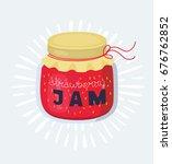 vector cartoon illustration of... | Shutterstock .eps vector #676762852
