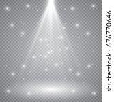 scene illumination  transparent ... | Shutterstock .eps vector #676770646