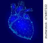 Human Heart Internal Organ...