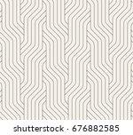 vector seamless pattern.... | Shutterstock .eps vector #676882585