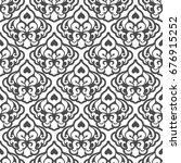 abstract seamless pattern.... | Shutterstock . vector #676915252