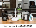Household appliances in a...