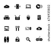 it icon set | Shutterstock .eps vector #676935832