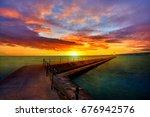 Sunrise At Two Harbor...