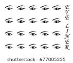 visual drawing for types of... | Shutterstock .eps vector #677005225