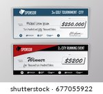template for event winning... | Shutterstock .eps vector #677055922