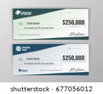template for event winning... | Shutterstock .eps vector #677056012