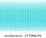 baby background. polka dot... | Shutterstock .eps vector #677088196