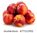 Nectarine Path Isolated