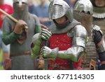 saint petersburg  russia   july ... | Shutterstock . vector #677114305