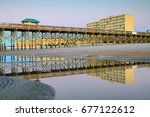 Folly Beach Fishing Pier In...