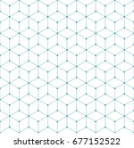 sacred geometry grid graphic... | Shutterstock .eps vector #677152522