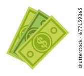 Dollar Bill Money Icon Image