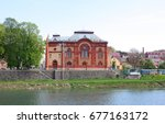 synagogue  philharmonic  in... | Shutterstock . vector #677163172