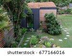 garden room with living sedum...
