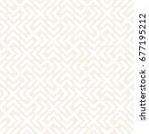 vector seamless cross tiling... | Shutterstock .eps vector #677195212