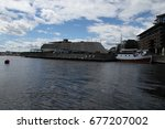 7 5 2017  oslo  norway  view of ... | Shutterstock . vector #677207002