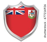 a shield illustration with the... | Shutterstock .eps vector #677216926