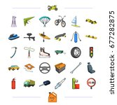 components  business  tradeand... | Shutterstock . vector #677282875
