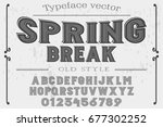font. alphabet. script....   Shutterstock .eps vector #677302252