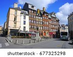 rennes  france  10 jul 2017 ... | Shutterstock . vector #677325298