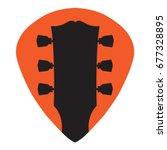 Guitar Headstock In Guitar Pic...