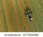 Tractor From Above Wales. Take...