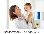 medicine  healthcare  pediatry... | Shutterstock . vector #677362612
