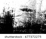 grunge texture overlay... | Shutterstock .eps vector #677372275