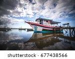 barra do sul  santa catarina ... | Shutterstock . vector #677438566