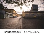 s o francisco do sul  santa... | Shutterstock . vector #677438572