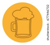 beer jar isolated icon | Shutterstock .eps vector #677446732
