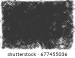 halftone dots background   logo ... | Shutterstock .eps vector #677455036