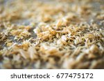 Wood Sawdust Texture Material...