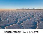 salar de uyuni   the world's... | Shutterstock . vector #677478595