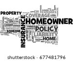 what should your homeowners... | Shutterstock .eps vector #677481796