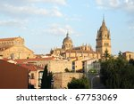 skyline and new cathedral in... | Shutterstock . vector #67753069