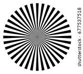 circular  radial abstract... | Shutterstock .eps vector #677537518