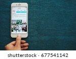 chiangmai  thailand   july 15 ... | Shutterstock . vector #677541142