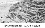 from high  the antique site of... | Shutterstock . vector #677571325
