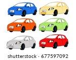 car cartoon   Shutterstock . vector #677597092