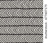 seamless pattern with hand... | Shutterstock .eps vector #677607175
