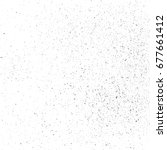 scratch  grain  noise rectangle ... | Shutterstock .eps vector #677661412