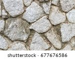 stone and concrete walls. | Shutterstock . vector #677676586