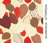 vector illustration of red and... | Shutterstock .eps vector #677690266
